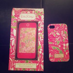 Lily Pulitzer iPhone 4s/4 cover